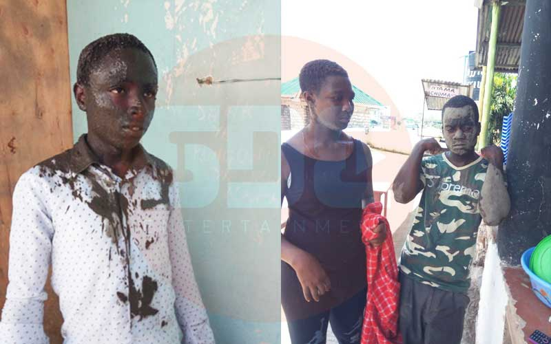 Horror as soldiers force Mombasa locals to swim in sewage on Mashujaa Day