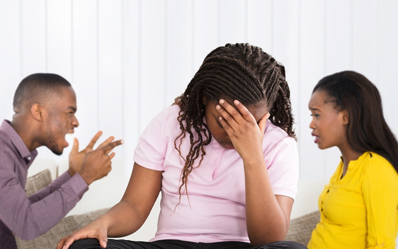 How spouses use children as ammunition after separation