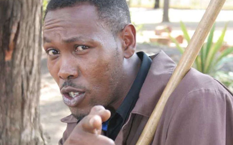 I'd take 10 beers without getting drunk- Actor Joseph 'Omosh' Kinuthia's battle with alcoholism