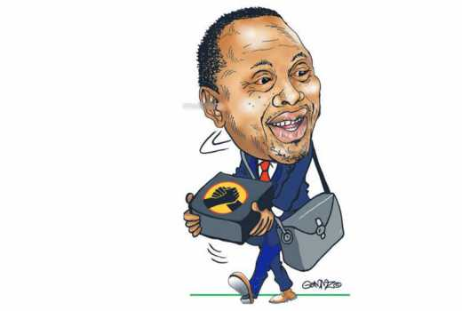 Is Uhuru planning to hang on to power for a third term?