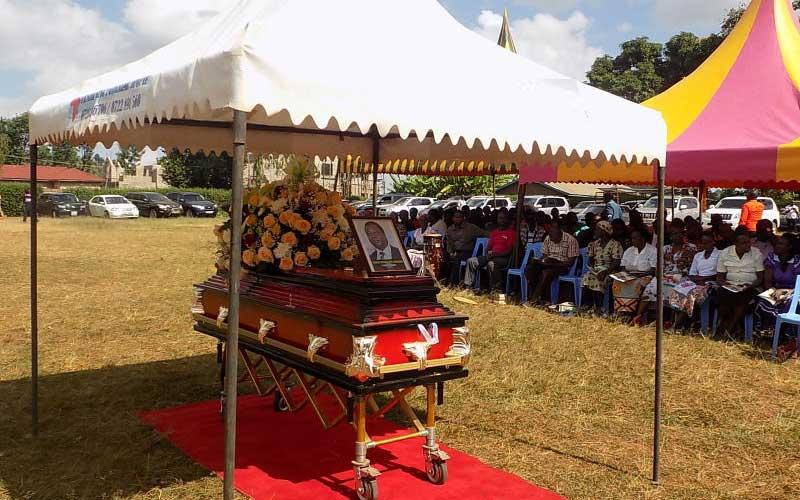 Kenya's strongest man laid to rest in Embu