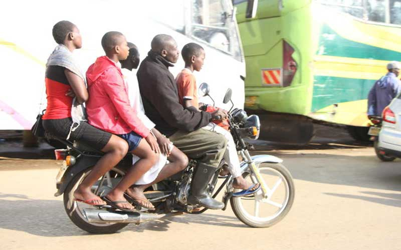 MCAs to come up with law to control how girls sit on bodaboda