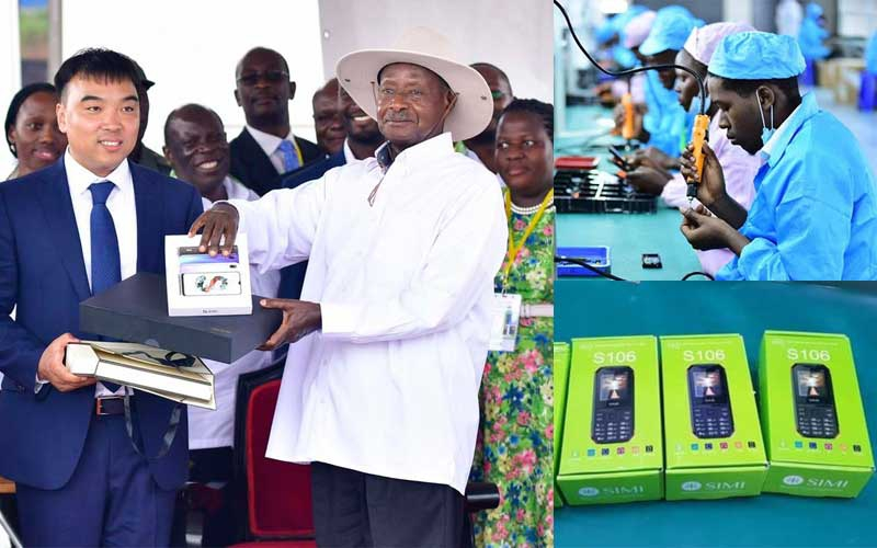 Museveni launches Uganda's first phone, laptop manufacturing plant