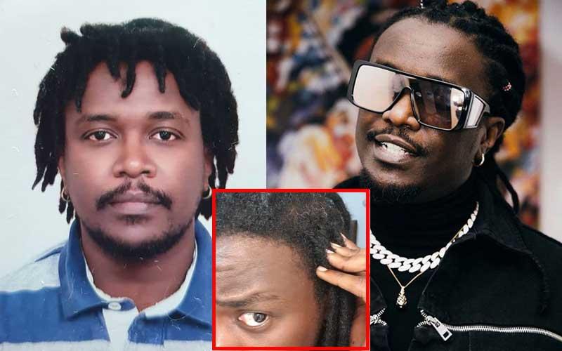 Mzae: Nyashinski's message as he spots grey hair