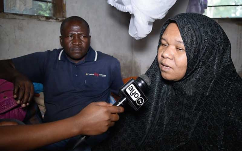 Mzee Majuto's widow claims his family has chased her away