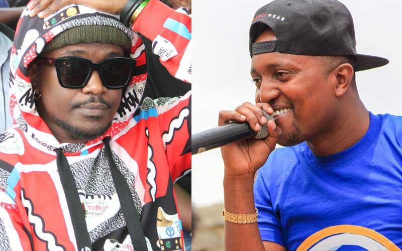 Nyashinski, Willy M Tuva face off intensifies