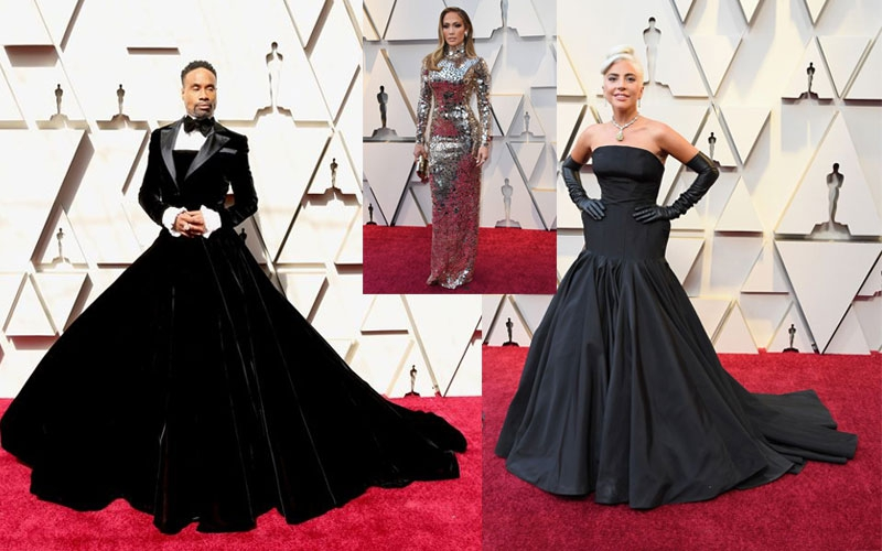 Oscars 2019 red carpet: Billy Porter steals the show in tuxedo dress