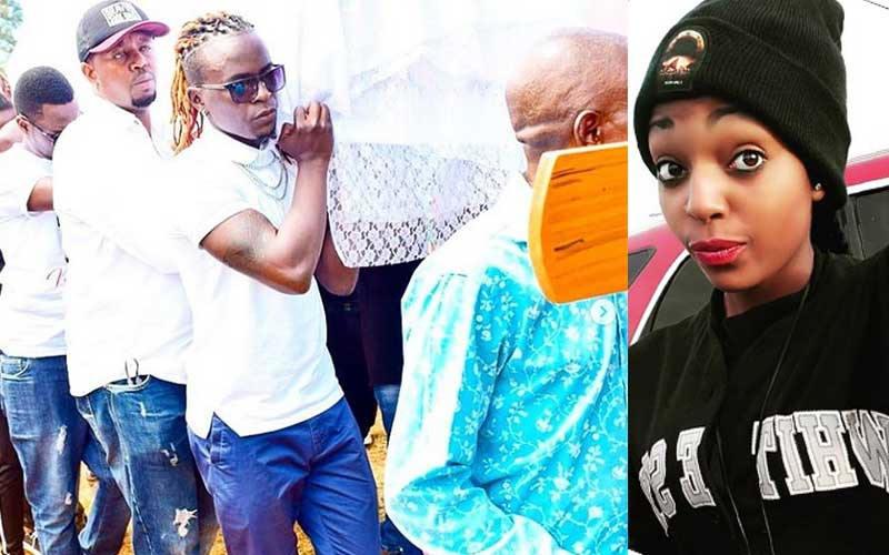 PHOTOS: Willy Paul shares emotional tribute as his dancer is laid to rest