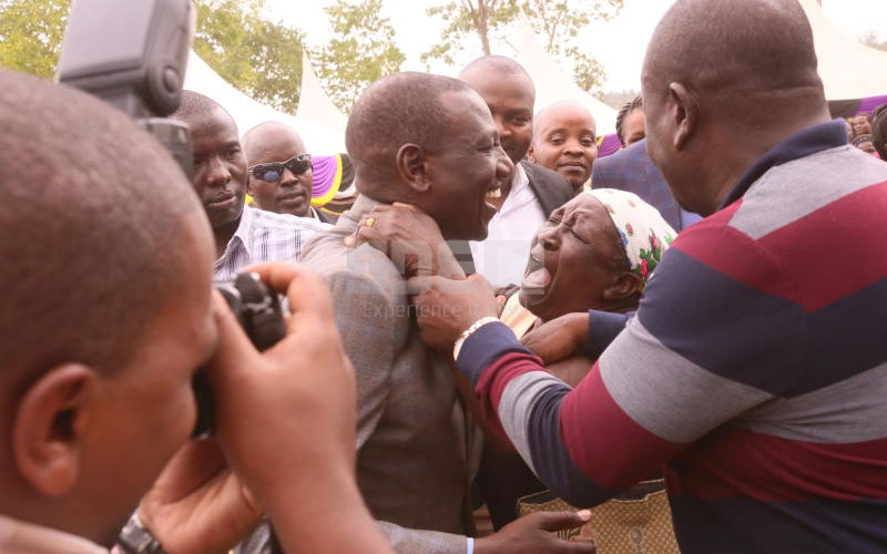 PHOTOS: Woman pleads with DP to help recover land from politician