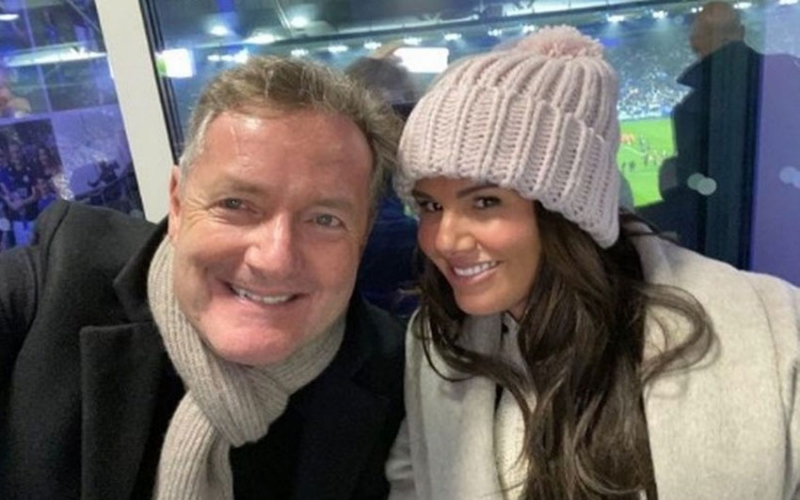 Piers Morgan vows to repair Rebekah Vardy's image after Coleen Rooney drama