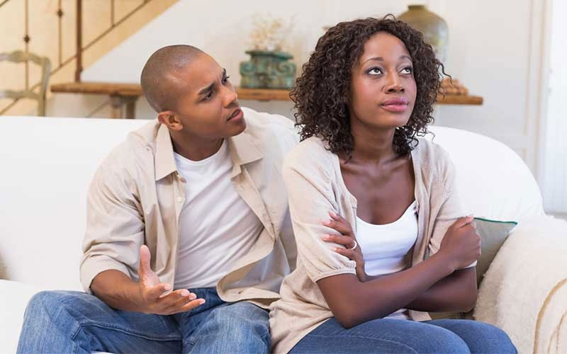 Stop over reacting: Nine things not to say to your woman