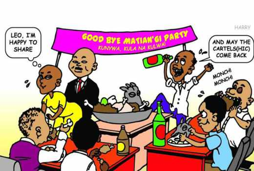Teachers throw bash to celebrate Matiang'i's exit