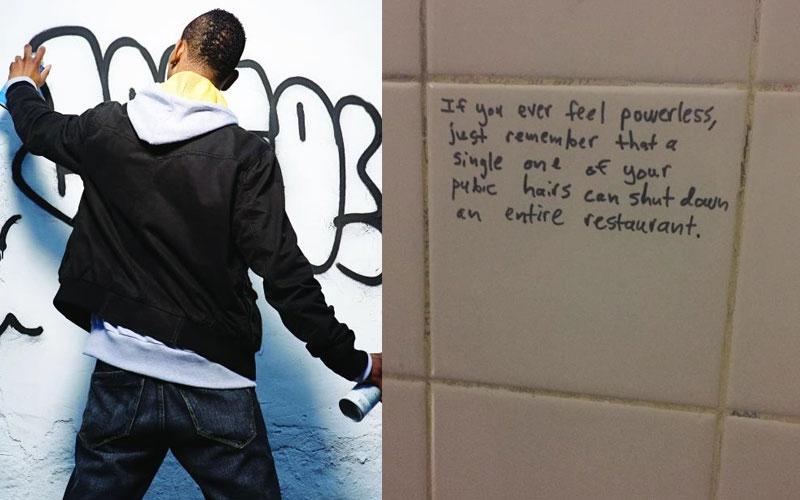 Toilet graffiti : Crazy Kenyans who write on loo walls