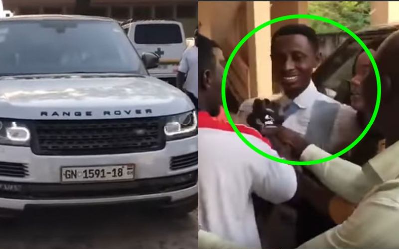 VIDEO: Pastor angers faithful by buying Range Rover, they demand tithe refund
