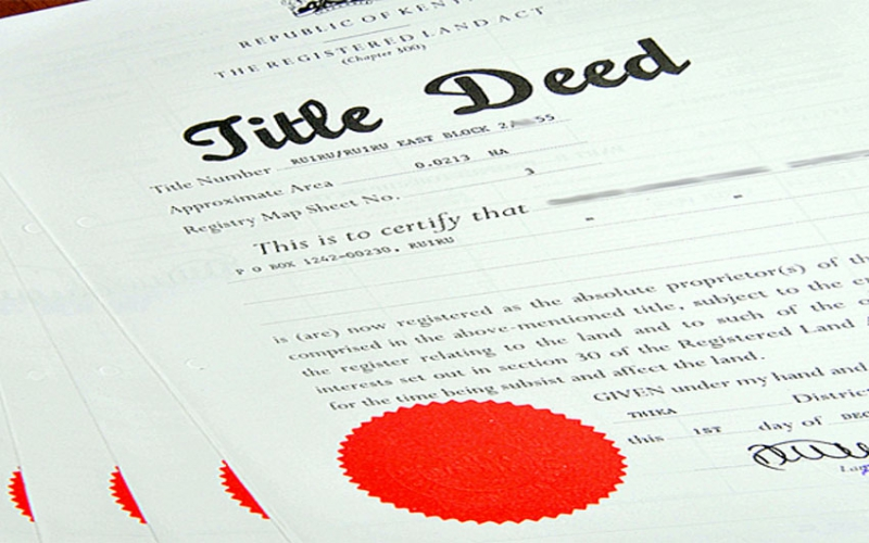 Villagers still waiting for land two years after Jubilee issued title deeds