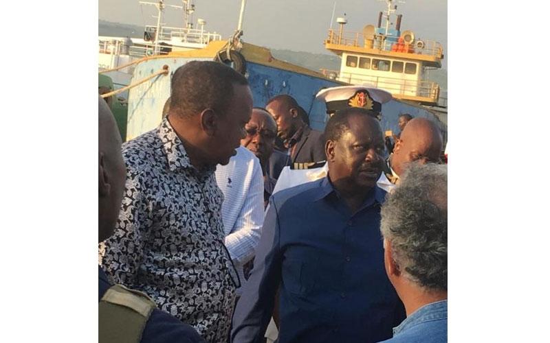 Why President Uhuru left his plane's engine running in Kisumu