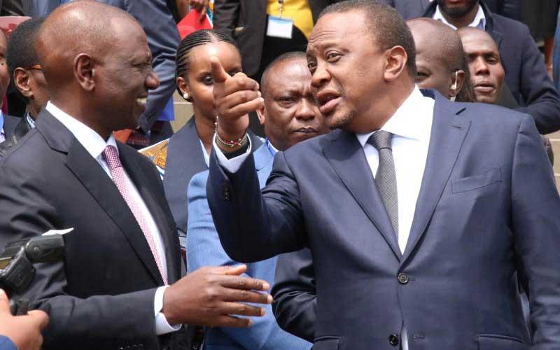 Why President Uhuru avoided meeting Ruto, Waititu at JKIA
