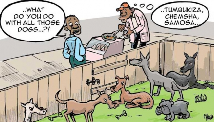 Tonnes of dog, donkey meat goes to waste as Nairobi City County bans food hawking