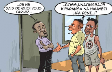 Tu gaspille mon temps! Clever tenant speaks French to avoid paying rent