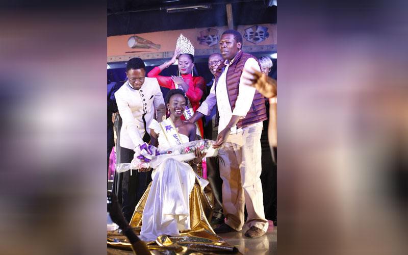 Action during Miss Tourism Kenya 2018