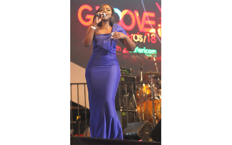 Gospel singer Rose Ohon performs during this Year'