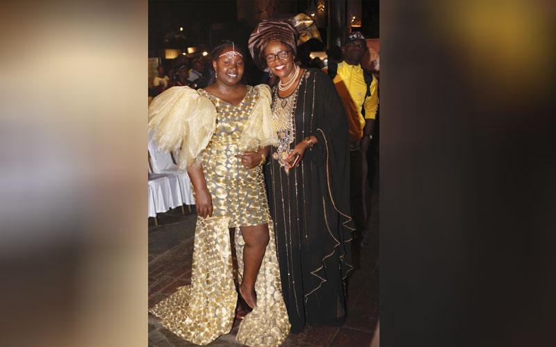Makena Chweya with Alice Kamunge at Miss Tourism K