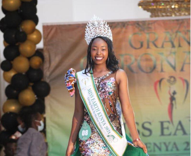 UoN student wins Miss Earth Kenya beauty contest