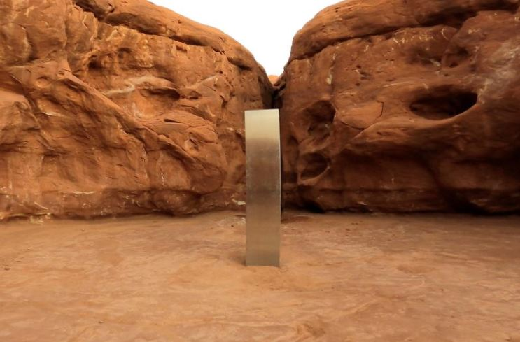 Utah monolith mystery deepens as object disappears just days after being found