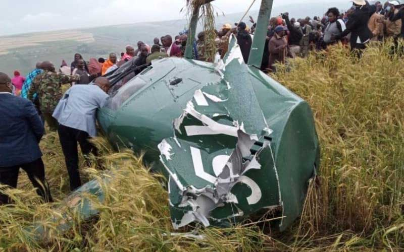 We would have all died- Narok Governor Tunai recounts chopper crash
