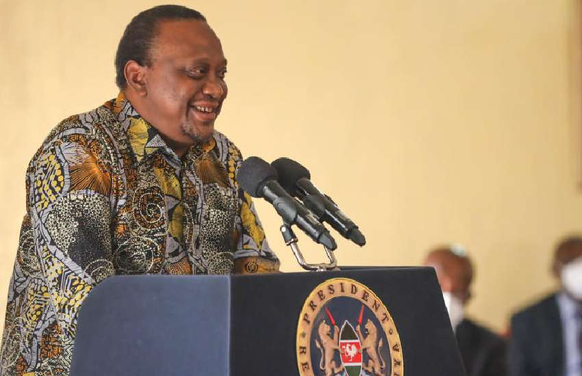 Why Kenyans must take notice of Uhuru's colourful kitenge shirts