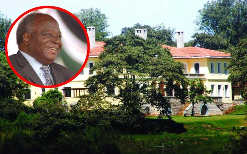 Why Mwai Kibaki prefers living in Muthaiga to Sh400 million Nyeri home