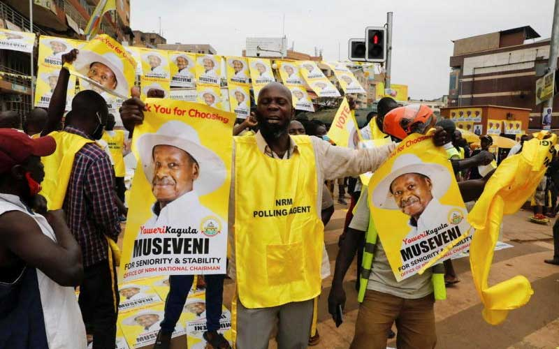 Why State House deleted post congratulating Museveni for election win