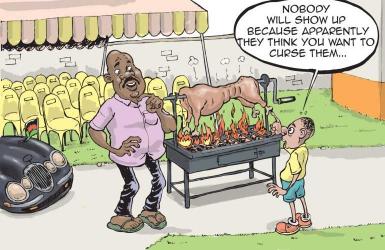 Why western Kenya politicians do not eat nyama ya kondoo