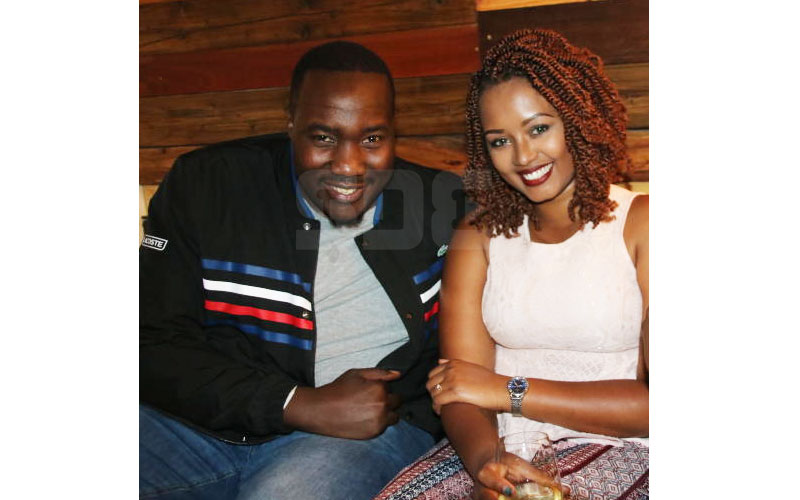 Willis Raburu's wife Marya drops his second name in social media comeback