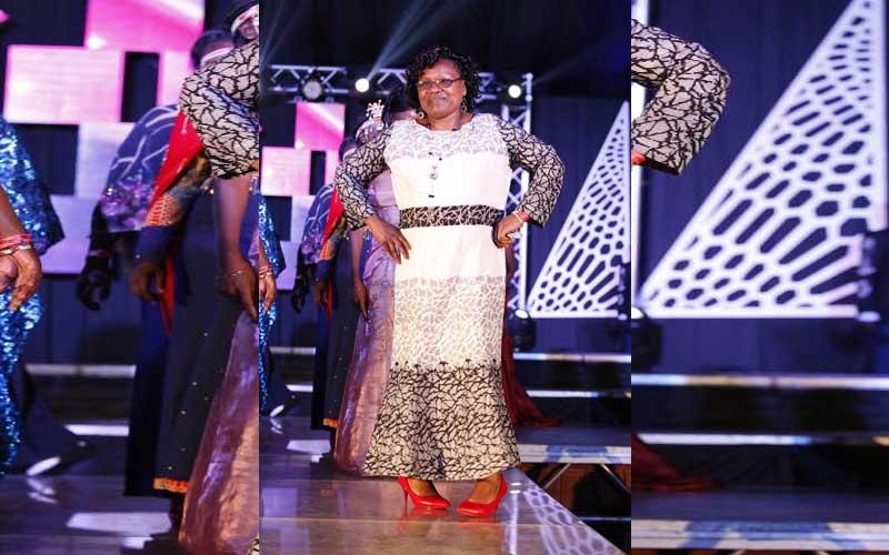 Judy Ojamong at Miss Tourism Kenya 2018