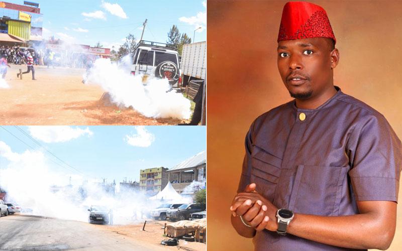 Youth leader Moses Mwenda's ultimatum to IG Mutyambai over Kenol deaths
