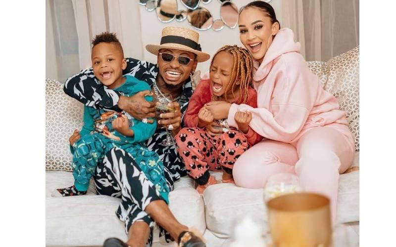 Zari praises Diamond for being a good father