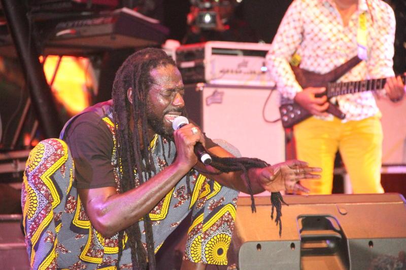 Buju Banton reggae concert at KICC