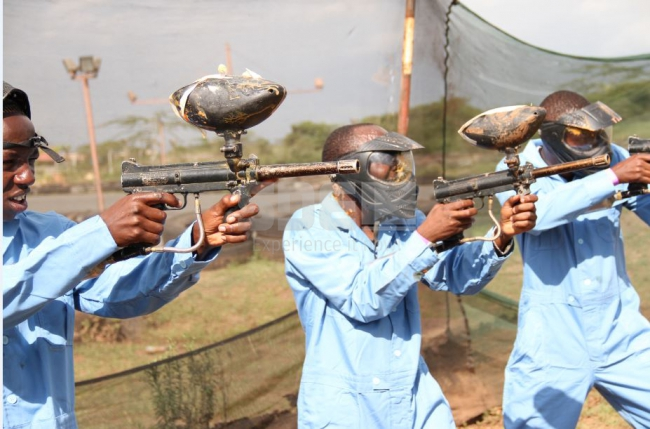 Pulse Paintball Fury at GP Karting