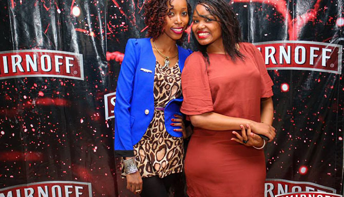 Smirnoff great nights at Mojos CBD