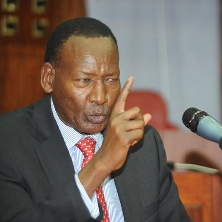 We cannot have a civilian commanding uniformed officers - Nkaissery