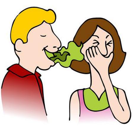 Stress 'brings bad breath too'