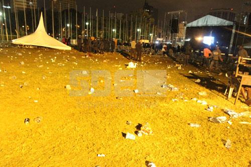 Damage At Tarrus Rilley Concert