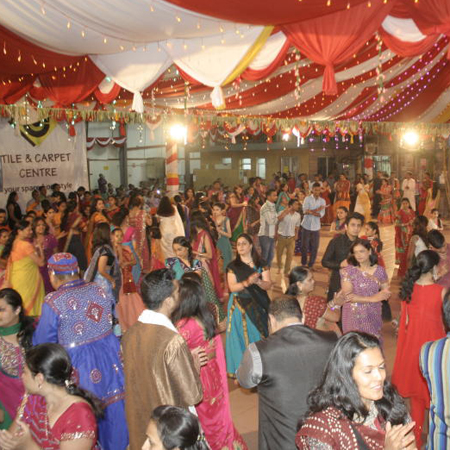 Hindus mark Navratri with pomp and colour