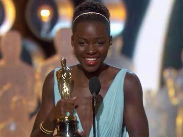 Lupita wins Oscars
