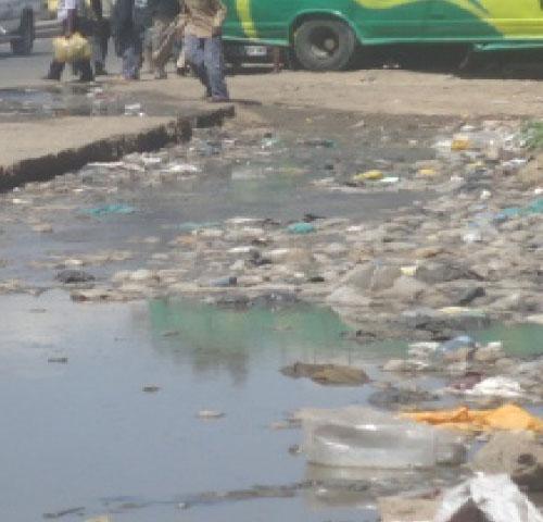 Sewage spill