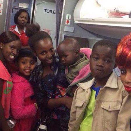 Senator Sonko takes Baby Osinya to Coast for Easter holiday