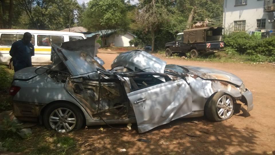The car crush involving Wangechi