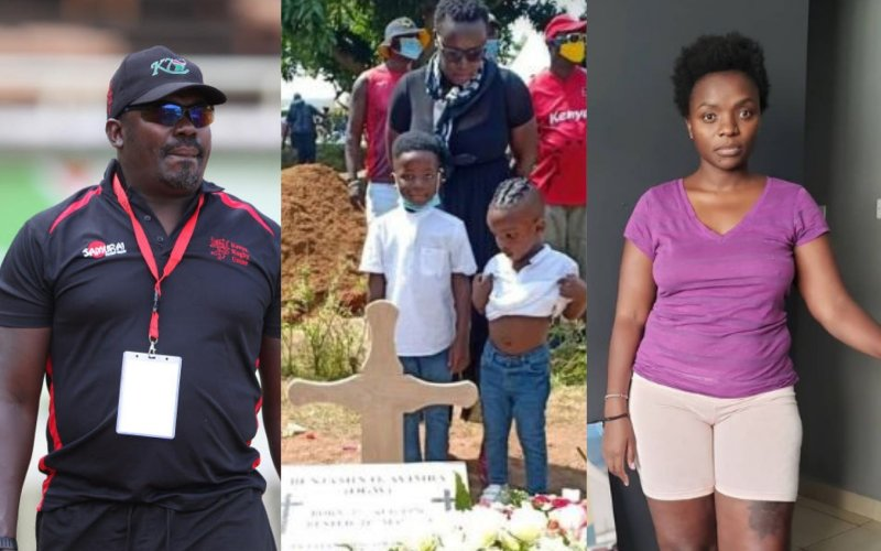 Ayimba's burial blemished by baby mama drama