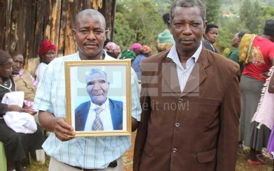Bizarre funeral for Nyeri man who dug his grave 38 years ago